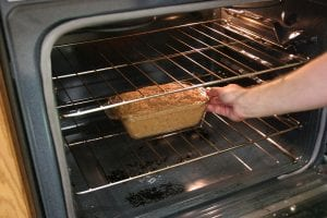 Pre heatign the oven helps get teh meat loaf up to temp faster keeping juices locked inside