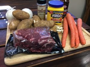 Everything you need to make a classic chuck roast