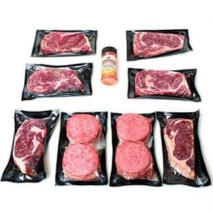 14oz ribeye burger package