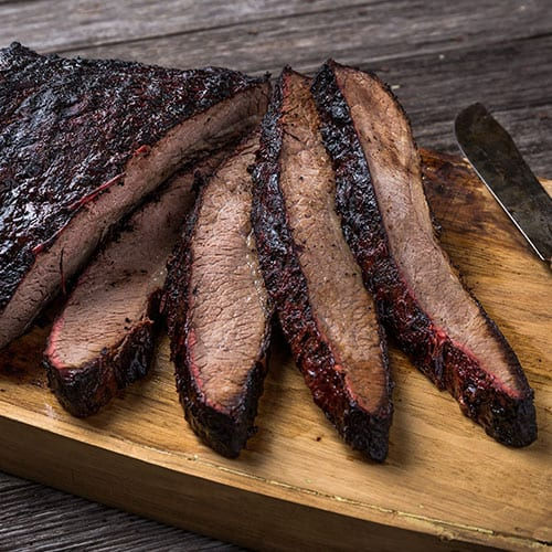 brisket whole sliced