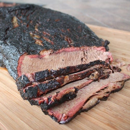 brisket whole cooked