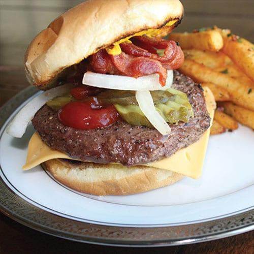 5.3oz fusion burger