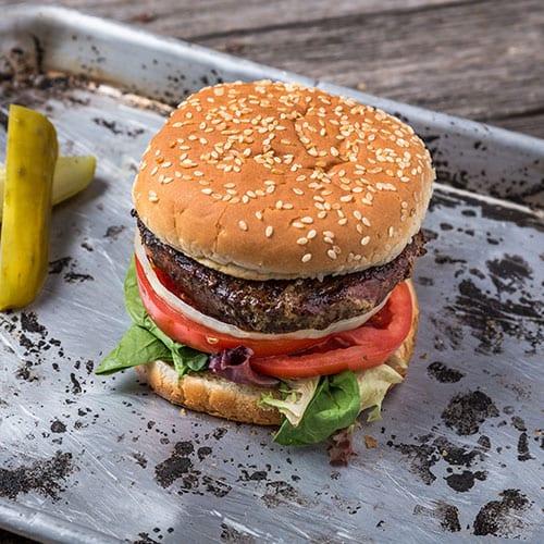 4oz fusion burger