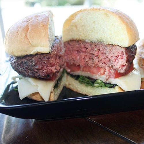 8oz fusion burger