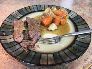 Nebraska Star Beef , all natural beef pot roast is fall apart good!