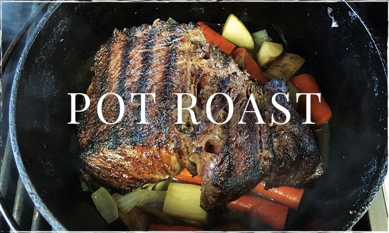 Home Style Chuck Roast (Pot Roast)