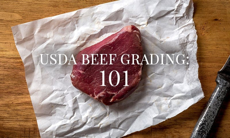 USDA Beef Grading: 101
