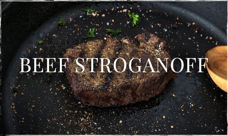Shawna's Beef Stroganoff