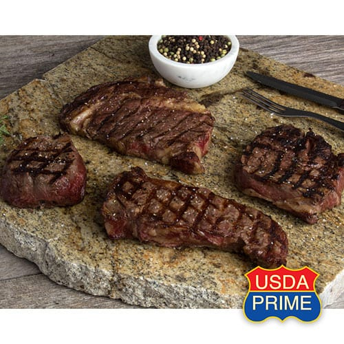 USDA Prime pairs cooked