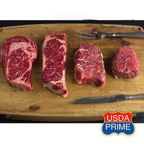 USDA prime pairs raw