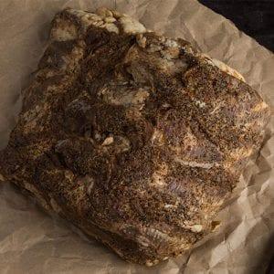 pre-cooked prime rib raw