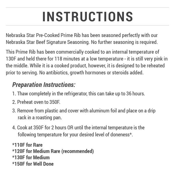 Pre-Cooked Prime Rib-2106
