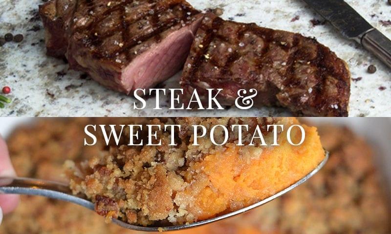 Steak & Sweet Potato