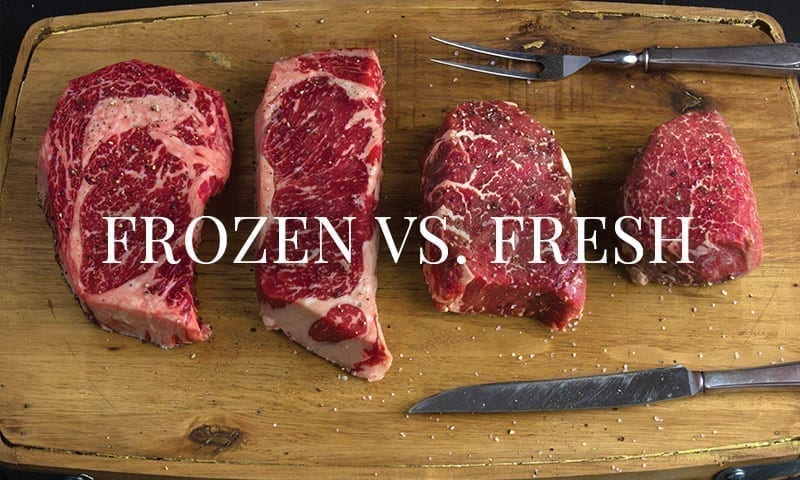 Frozen vs. Fresh