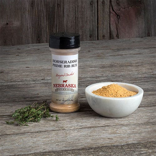 horseradish prime rib rub