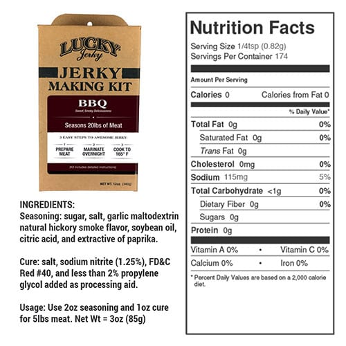 diy bbq nutrition