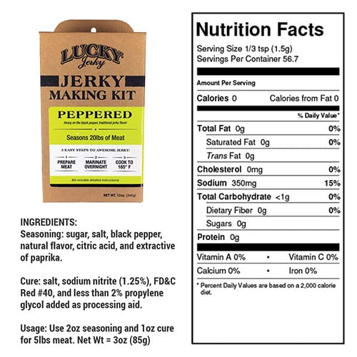 diy peppered nutrition