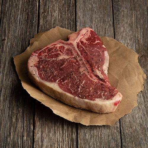 raw porterhouse