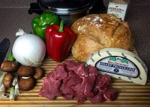 philly cheese steak ingredients