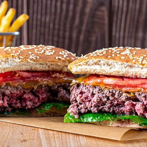 burger cut