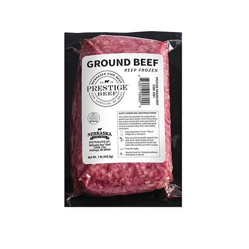 prestige ground beef