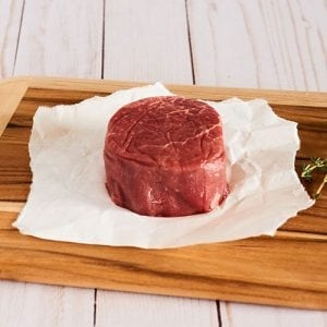 5oz filet raw