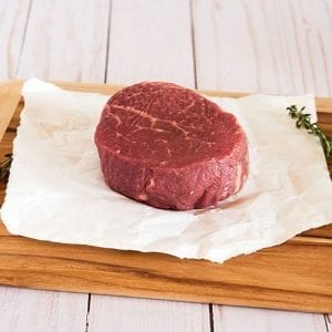8oz filet raw