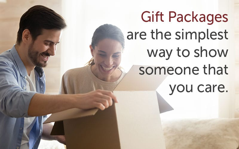gift packages message